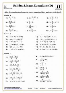 solving equations maths worksheet education pinterest math worksheets math and worksheets