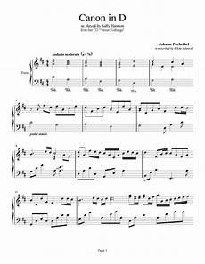 canon in d johann pachelbel piano plateau