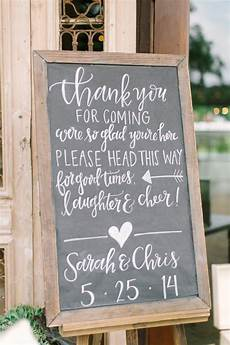 Wedding Reception Signs Ideas 20 chic rustic chalkboard wedding sign ideas