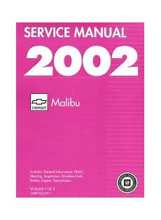 small engine repair manuals free download 2000 cadillac eldorado electronic valve timing 2002 chevrolet factory service manual