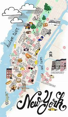 New York Malvorlagen Pdf City Trip Back To Ny 01 Manhattan Map Of New York