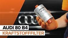wie audi 80 b4 kraftstofffilter wechseln tutorial