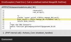 how to start work mongodb with php kohana framework