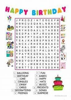 happy birthday worksheets esl 20219 one big worksheet briefencounters
