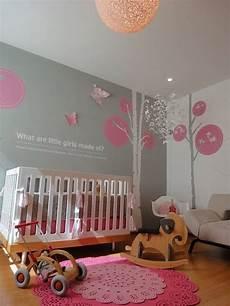 Rosa Grau Kinderzimmer - habitacion de bebe rosa y gris decoracion cuarto bebe