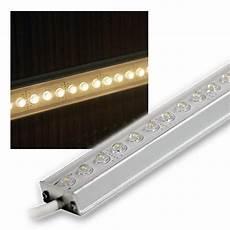 alu led lichtleiste warm wei 223 100cm 12v dc design