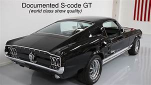 1967 Mustang GT 390 S Code Fastback  Gt