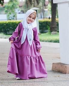 50 Model Gamis Anak Perempuan Syar I Terbaru 2020