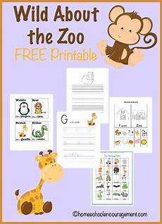 about the zoo free printables free worksheets for kids homeschool homeschooling
