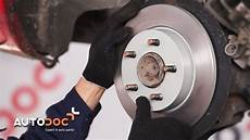 how to replace rear brake discs and brake pads mazda 3 bk