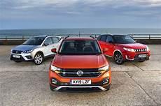 seat arona target price new volkswagen t cross vs seat arona vs suzuki vitara