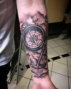 kompass unterarm by dimon duda das wurde in einer sitzung gestochen