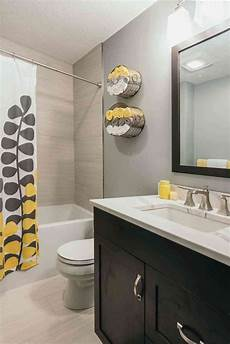 Grey Yellow Bathroom Ideas by Best 25 Grey Bathroom Cabinets Ideas On