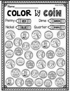 money identification worksheets 2193 it ll help identify pennies from other coins which will ensure if they really how a