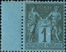 Prix D Un Timbre De Collection Le Bleu De Prusse