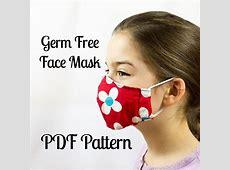free printable face mask pattern