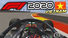 driving the f1 2020 grand prix onboard the