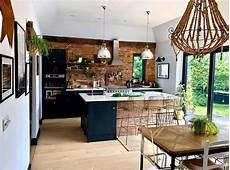 küche rustikal modern industrial style kitchen moderne rustikale blaue k 252 che