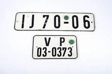 Plaques D Immatriculation De La Ddr Aiolfi G B R