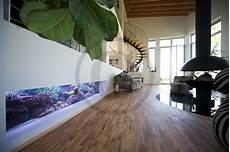 Aquarium In Wand Integrieren Wohntr 228 Ume