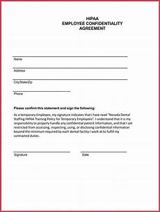 employee confidentiality agreement 7 best professional sles