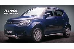 Maruti Suzuki Ignis Limited Edition Launched  Autocar India