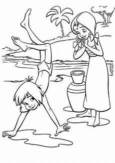 das dschungelbuch 15 ausmalbilder malvorlagen
