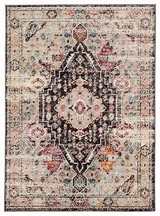 farra indoor outdoor medallion brown pink area rug