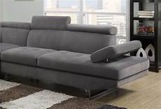 Deco In Canape D Angle Design Gris Rubic Angle