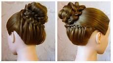 Chignon Original Facile Tuto Coiffure Cheveux Mi