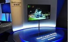 panasonic plant einen curved 65 zoll 4k oled tv ces 2015