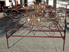 letti in ferro battuto antichi antico letto in ferro battuto a due posti antiquariato