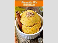 Eggnog Pumpkin Ice Cream Pie image