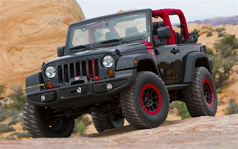 2014 Jeep Wrangler Level Red Concept