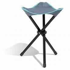 tabouret de cing pliant gris et bleu meuble de