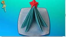 serviette en papier noel pliage des serviettes sapin de no 235 l