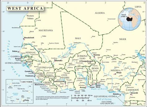Les Pays D Afrique De L Ouest