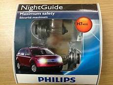 philips h7 nightguide headlight bulb 12972ngs2 pack of 2