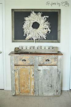 Shabby Chic Look - home by ally shabby chic hutch reveal how to achieve a