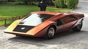 1970 Lancia Stratos Zero A Crazy Concept From The Wedge
