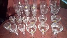 set di bicchieri cristall d arques set di 22 bicchieri di liquore al