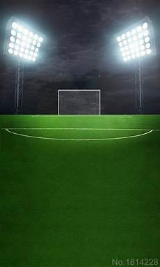 3x5ft Football Grassland Stadium Theme Photography by 3x5ft Green Grass Football Soccer Court Field