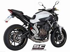 conic exhaust by sc project yamaha mt 07 2018 y14 c21a