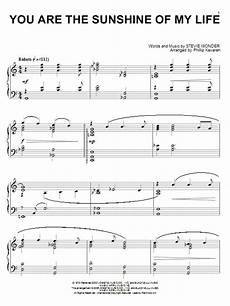 you are the sunshine of my life sheet music by stevie wonder piano 55881