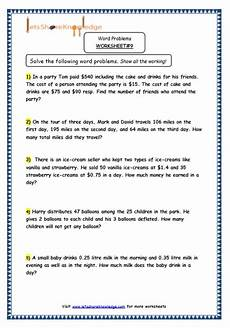 word problem worksheets grade 5 11038 grade 5 maths resources step word problems printable worksheets lets knowledge