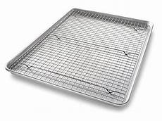 bakeware extra large sheet baking pan and bakeable nonstick cooling rack ebay