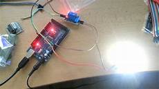 arduino 12v led relay blink