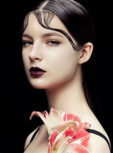 flowers kiss curls zhang jingna shoots bazaar vietnam beauty high fashion makeup fashion