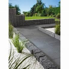 terrassenplatte naturstein anthrazit grau 60 cm x 40 cm x