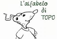 lettere alfabeto da stare e colorare l alfabeto di topo